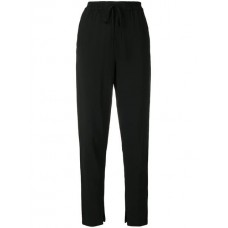 3.1 Phillip Lim Drawstring waist Tapered Trousers 66TBLACK Viscose 99% Women's Tapered Trousers 13071077 TKOIQNF