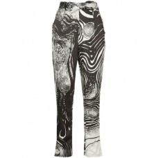 Aje Chiltern Tapered Trousers STARRY NIGHT Viscose 50% Women's Tapered Trousers 13412042 UMBKUCV