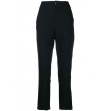Aleksandr Manamïs High Waisted Tapered Trousers BLACK Linen/Flax 45% Women's Tapered Trousers 13290743 MJYUACA