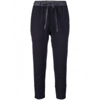 École De Curiosités High Waist Tapered Trousers 179 DARK NAVY Wool 100% Women's Tapered Trousers 13228627 ORFGZSV