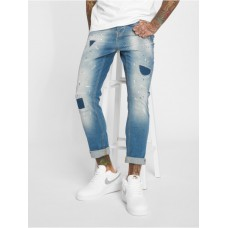 2Y - Men Slim Fit Jeans Carlo in blue Men's Jeans B2402LBLU MMX1zIE1