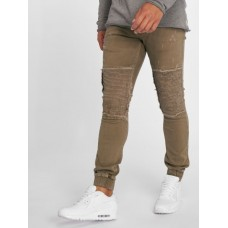 2Y - Men Slim Fit Jeans Denim Jogger in brown Men's Jeans B3020BRO Z9LSRGcM