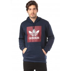 Adidas Skateboarding Solid Bb Hood - Hooded Sweatshirt for Men - Blue 70% Cotton 30% Polyester 51002200 yzLvuYGE