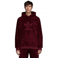 ADIDAS Winterized - Hooded Sweatshirt for Men - Red 100% Polyester 51855201 gcgWeD6c