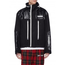 Alexander Wang Retractable hood contrast panel jacket 211159358 - Men Clothing NFKIXWB