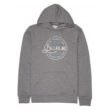 BILLABONG Plaza - Hooded Sweatshirt for Men - Blue 70% Polyester 30% Cotton 51464100 JGs42imj