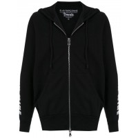 À La Garçonne Hooded Drácula Sweatshirt PRETO Cotton 100% Men's Hooded Jackets 13398624 AKXGRFM