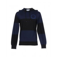 ÉTUDES STUDIO Hooded track jacket 100% Cotton Dark blue Men's Hooded Jackets Product code: 12173403BL CIRKYRI