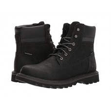 Caterpillar Casual Deplete Waterproof Black Men's Lace Up Boots 8925347 EUNEMGA
