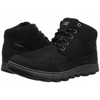 Caterpillar Casual Drover Ice + Waterproof TX Black Men's Lace Up Boots 8926338 RLVSAAH