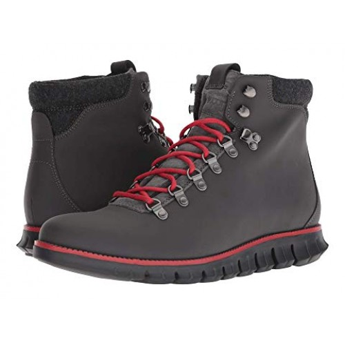 2189a2baf4a Cole Haan Zerogrand Hiker Magnet Leather/Barbados Cherry/Black Men's ...