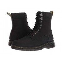 Dr. Martens Vincent Hook Robson Black Muddy River Waterproof Men's Lace Up Boots 9057507 MCUANBL