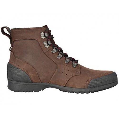SOREL Ankeny™ Mid Hiker Cattail/Black Men's Lace Up Boots 8353045 COWDRVT