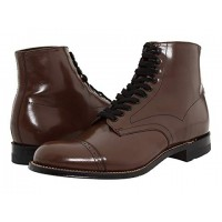 Stacy Adams Madison Boot Brown Men's Lace Up Boots 102179 WUZUNKO