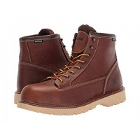 Wolverine Floorhand 2 Mid Steel Toe WP Brown Men's Lace Up Boots 9048428 CUWNZHV