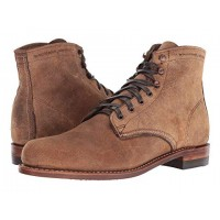 """Wolverine Original 1000 Mile 6"""" Boot Brown Waxy Suede Men's Lace Up Boots 8814205 RMSXXBO"""