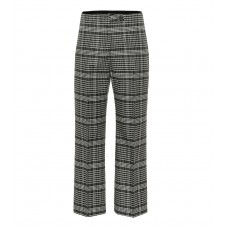 Acne Studios Checked wool blend pants grey/grey 83% wool 17% polyester  P00340197 QMDVYXX