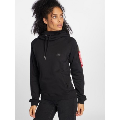 Alpha Industries Women Hoodie X Fit in black 17603003 RzjjVpLs
